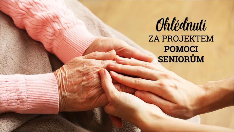 Ohlédnutí za projektem pomoci seniorským domovům a zdravotnickým zařízením